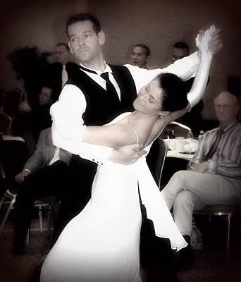 Dance With Me Art Print by Lori Seaman