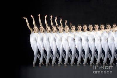 Stroboscopic Images Photograph - Dancer by Ted Kinsman