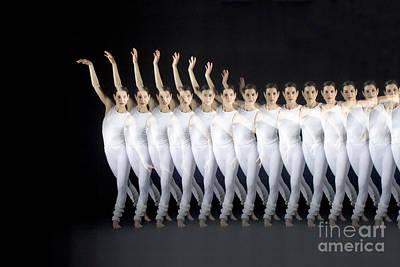 Biomechanic Photograph - Dancer by Ted Kinsman