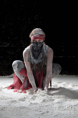Dance Photograph - Dancing In Flour Series by Cindy Singleton