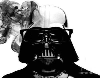 Micah Digital Art - Darth Hipster by Micah Mackenzie