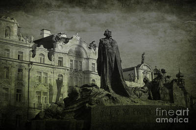 Death In Prague Art Print by Lee Dos Santos