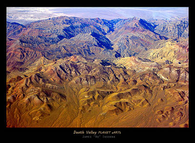 Photograph - Death Valley Planet Earth Poster by James BO  Insogna