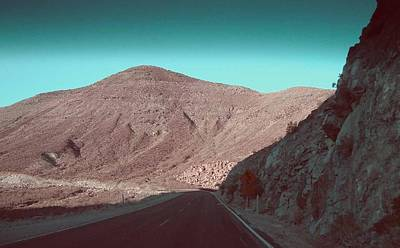 Rural Landscapes Photograph - Death Valley Road 2 by Naxart Studio