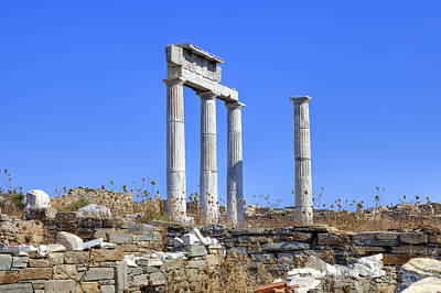 Ancient Greece Photograph - Delos by Joana Kruse
