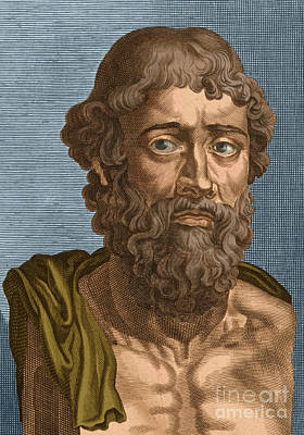 Demosthenes, Ancient Greek Orator Art Print by Photo Researchers