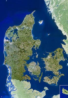 Denmark Print by Planetobserver