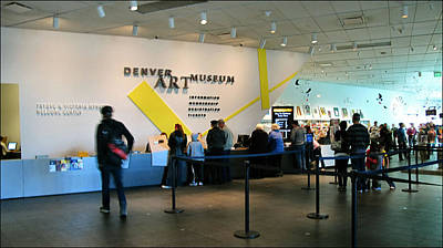 Photograph - Denver Art Museum 2010 by Glenn Bautista