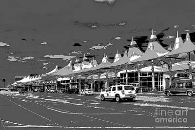 Photograph - Denver International by David Bearden
