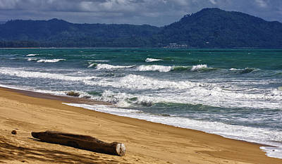 Photograph - Deserted Beach In Phuket In Thailand by Zoe Ferrie