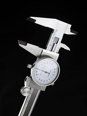 Slider Photograph - Dial Calipers by Tek Image