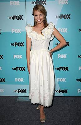 Dianna Agron At Arrivals For Fox Art Print by Everett
