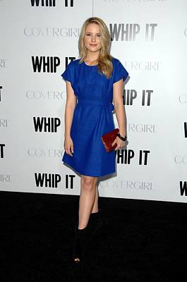 Dianna Agron At Arrivals For Whip It Art Print
