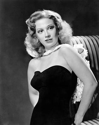Dinah Shore, Ca. 1943 Art Print by Everett