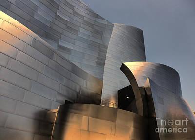 Disney Music Hall Photograph - Disney Music Hall Vi by Chuck Kuhn