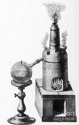 Photograph - Distillation, Alembic, 18th Century by Science Source