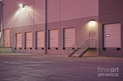 Distribution Center Bay Doors Art Print