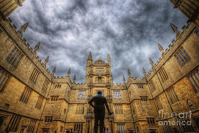 Photograph - Divinity School - Oxford by Yhun Suarez