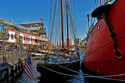 Photograph - Docked At Pier 17 by Laura DAddona