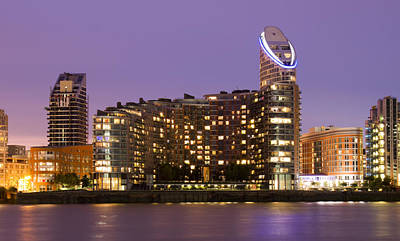 Docklands Apartments Art Print by David French