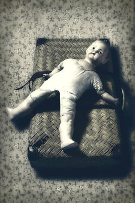 Doll Photograph - Doll With A Suitcase by Joana Kruse
