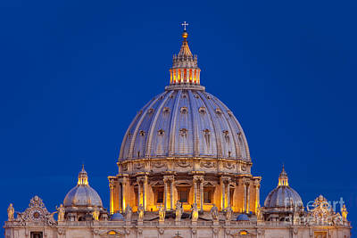 Photograph - Dome San Pietro by Brian Jannsen
