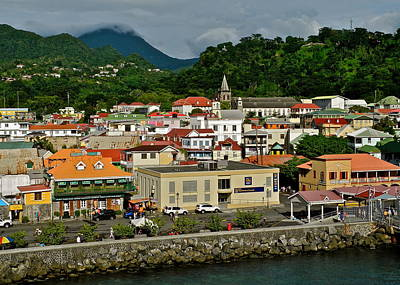 Photograph - Dominica Island Waterfront  by Kirsten Giving
