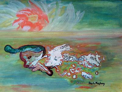 Painting - Doodlewat14 - Peace Or War by Paula Maybery