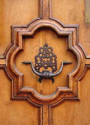 Photograph - Door Knocker by Ramona Johnston