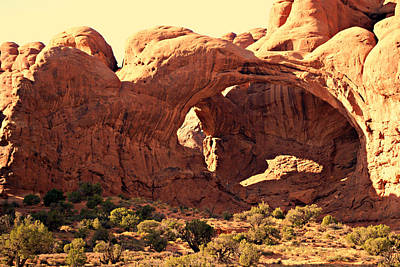 Photograph - Double Arch by Marty Koch