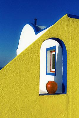 Photograph - Double Entredre-santorini by John Galbo