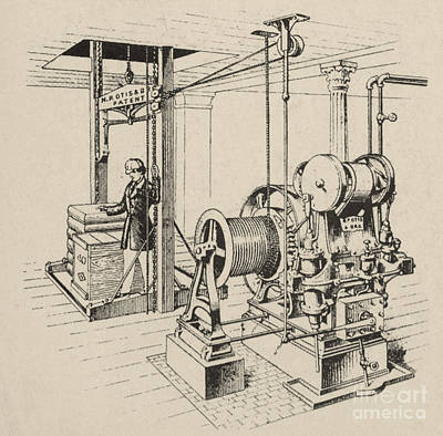 Double Oscillating Steam Engine Art Print by Science Source