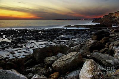 Dramatic Coastline Art Print by Carlos Caetano