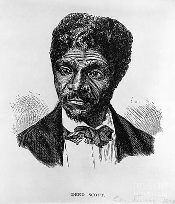 Dred Scott, African-american Hero Art Print by Photo Researchers