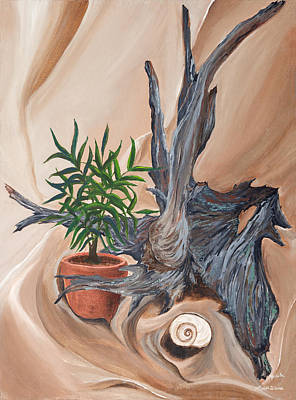 Painting - Driftwood by Michelle Wiarda