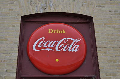 Antiques Photograph - Drink Coca Cola by Daryl Macintyre