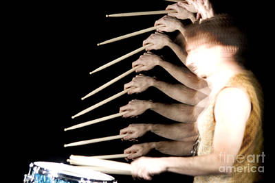 Biomechanic  - Drummer by Ted Kinsman