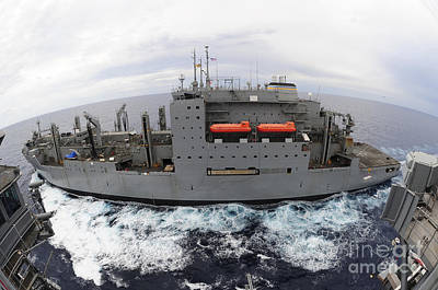 Sacagawea Photograph - Dry Cargo And Ammunition Ship Usns by Stocktrek Images