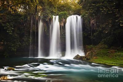 Duden Waterfalls Art Print by Andre Goncalves