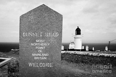 Dunnet Head Most Northerly Point Of Mainland Britain Scotland Uk Art Print by Joe Fox