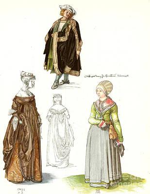 Photograph - Durer: Fashion, 1500 by Granger
