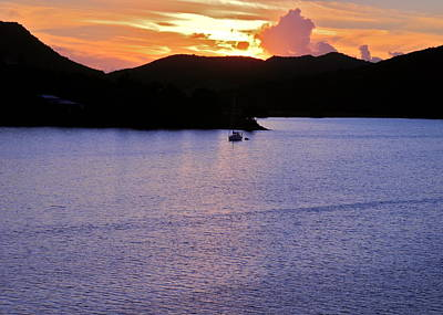 Photograph - Dusk In Antigua  by Kirsten Giving