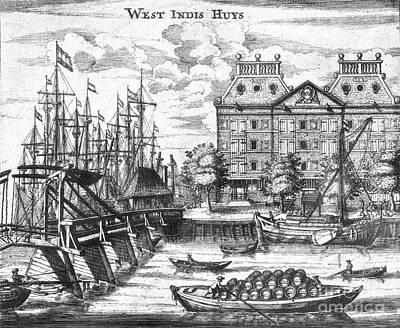Dutch West India Company Warehouse Art Print