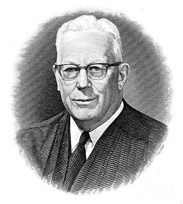 Earl Warren (1891-1974) Art Print by Granger