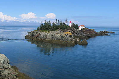 East Quoddy Lighthouse Art Print by Bob Davis