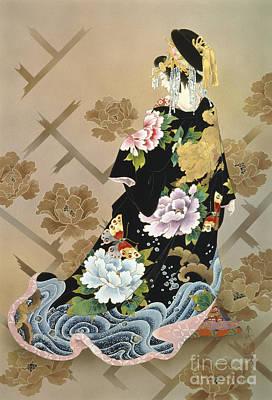 Kimonos Photograph - Echigo Dojouji by Haruyo Morita