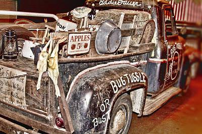 Eddie Bauer Bug Tussle Pick Up Print by Douglas Barnard
