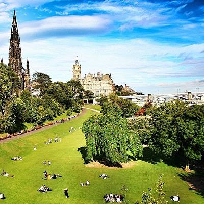 Landscapes Photograph - Edinburgh - Scotland by Luisa Azzolini