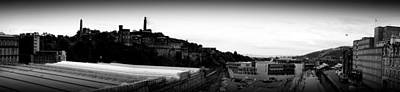 Photograph - Edinburgh Station Panorama by Ian Kowalski