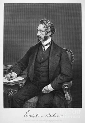 Edward Bulwer Lytton Art Print by Granger